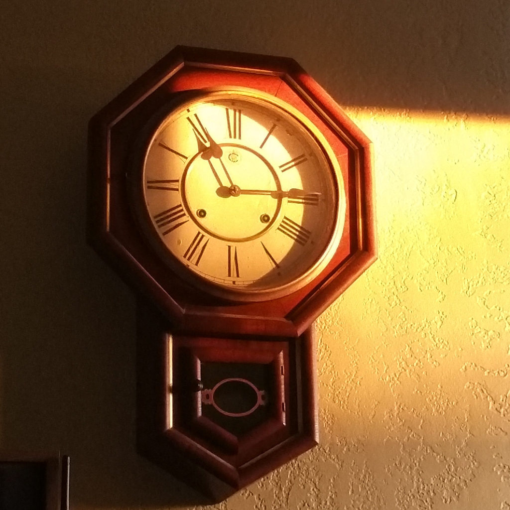 clock in the sunset 20160717_203803
